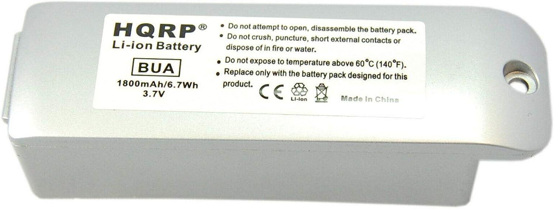 List Spring new work price HQRP Battery fits Garmin Zumo 400 500 01 Deluxe 550 450
