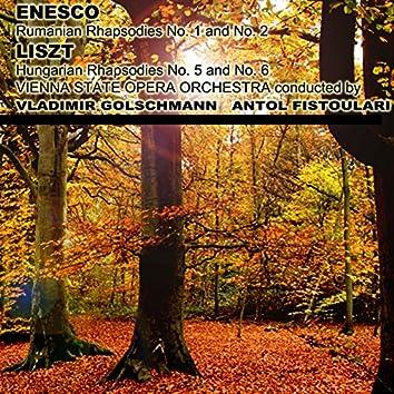 Enesco & Liszt: Rhapsodies