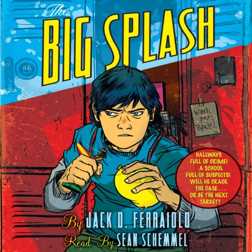 The Big Splash audiobook cover art