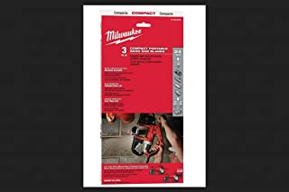 Milwaukee Tool 48-39-0539 Matrix II High Speed Steel 24 Teeth Compact Portable Band Saw Blade 35-3/8 Inch