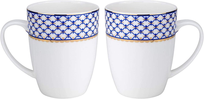 Euro Porcelain 2-pc Tea Cup Coffee Drinking Sale price Bone w Set Mug China Dedication