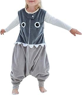 Happy Cherry - Bébé Unisexe Combinaison Sac de Couchage - Bébé Hiver Chaud Pyjama Cartoon - Age Adapté 1-6 ans