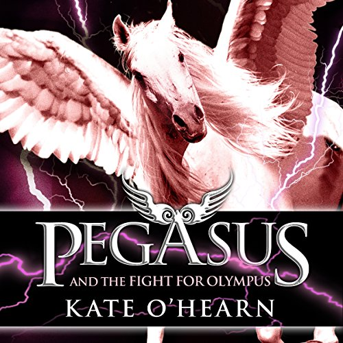 Pegasus and the Fight for Olympus audiobook cover art