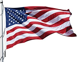 Eder Flag Manufacturing 40' x 70' Poly-Max U.S. Outdoor Flag PF70 010292