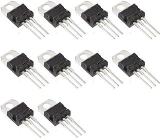 Bridgold 10pcs TIP102 102 Bipolar (BJT) Single NPN Darlington Transistor, 100 V/8 A,3-Pin TO-220