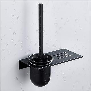 Cleaner Toilet Brushes فرشاة المرحاض الألومنيوم لديها رف لمزيد من أدوات التنظيف فرشاة ورق تواليت مجانية لكمة مناسبة لمجموع...