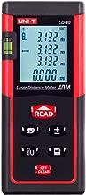 UNI-T LD40 Digital Laser Distance Meter 40 Meters 131 feet Range Finder Measure Diastimeter