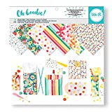 "American Crafts Oh Goodie 12"" x 12"" Glassine Paper Pad Pattern 24 Sheet"