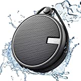 INSMY IPX7 Waterproof Shower Bluetooth Speaker, Portable Wireless Outdoor Speaker with HD Sound, Support TF Card, Suction Cup for Home, Pool, Beach, Boating, Hiking 12H Playtime