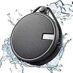INSMY IPX7 Waterproof Shower Bluetooth Speaker