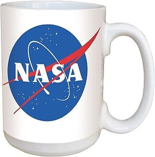 NASA Logo Coffee Mug - Large 15 oz Deluxe Double-Sided Mug