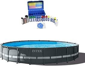 Intex 20ft x 48in Ultra XTR Frame Pool Set w/Taylor Swimming Pool Water Test Kit