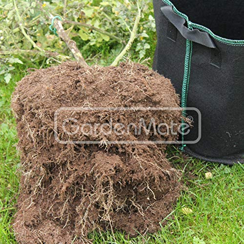 GardenMate® 3X 60l Saco para Plantas de Malla geotextil ...