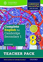 Complete English for Cambridge Secondary 1 Teacher Pack 8: For Cambridge Checkpoint and Beyond (Cie Igcse Complete)