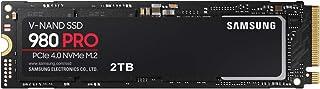 Samsung 980 PRO 2TB PCIe Gen 4.0 x4 (最大転送速度 7,000MB/秒) NVMe M.2 (2280) 内蔵 SSD MZ-V8P2T0B/EC 国内正規保証品