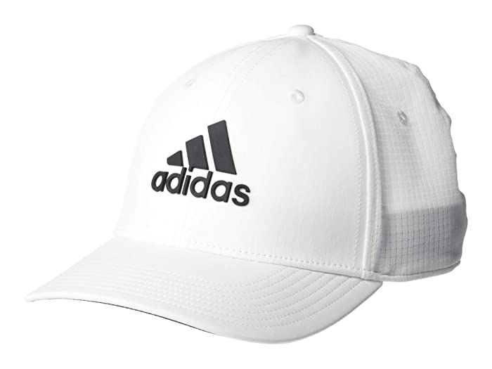 adidas Golf  Tour Hat (White/Black) Caps