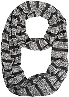 NJTSXLM Women's Scarves, Scarf with Pocket Convertible Journey Infinity Scarf All-Match Women Zipper Pocket Scarf Soft Pocket (Color : Navy)