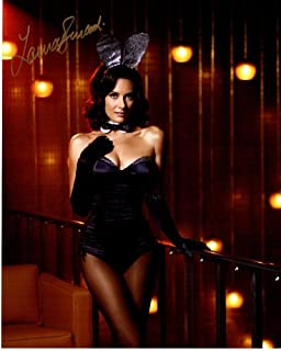 Laura Benanti Signed - Autographed Playboy Bunny 8x10 inch Photo - Guaranteed to pass BAS - Beckett Authentication