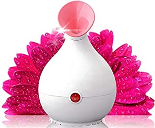 Facial Steamer Face Steamer Professionele Nano Ionische Hot Mist-luchtbevochtiger met UV-licht voor Diepe Schone Mee-eter ...
