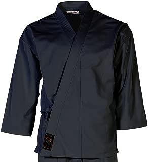 Tiger Claw Karate Uniform 100% Cotton Black Hayashi (Top Only)