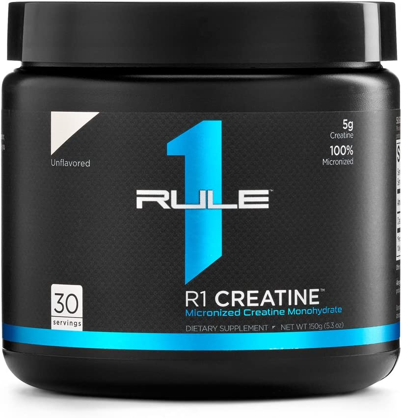 R1 Creatine Rule Oklahoma City Mall Outlet ☆ Free Shipping 1 Unflavored Servings 30 Proteins