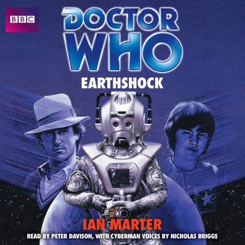 Doctor Who: Earthshock audiobook cover art