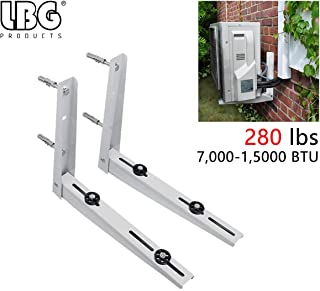 AC Parts Universal Outdoor Wall Mounting Bracket for Ductless Mini Split Air Conditioner Condenser Unit,Heat Pump Systems, Support up to 280lbs (7000-15000BTU)