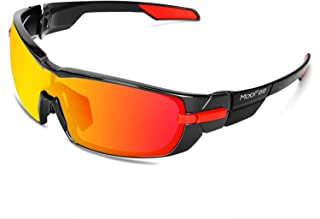 Polarized Sports Sunglasses with Rotatable Legs Cycling Glasses for Men
