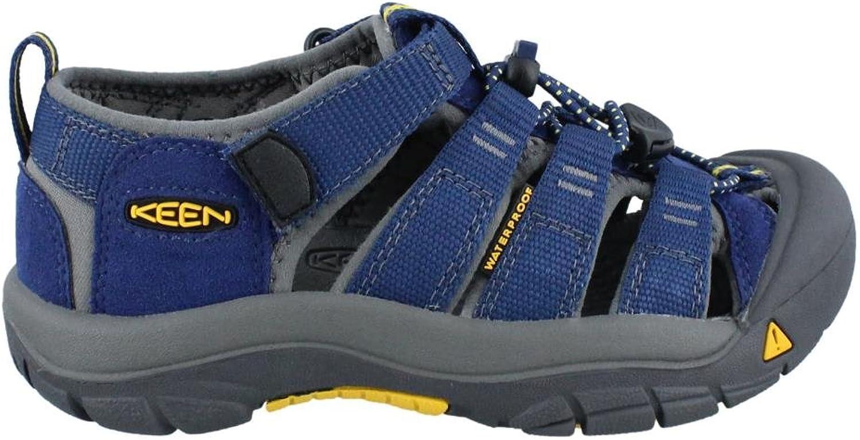 KEEN shoes Boys' Newport H2 Sandals, blueee Depths and Gargoyle