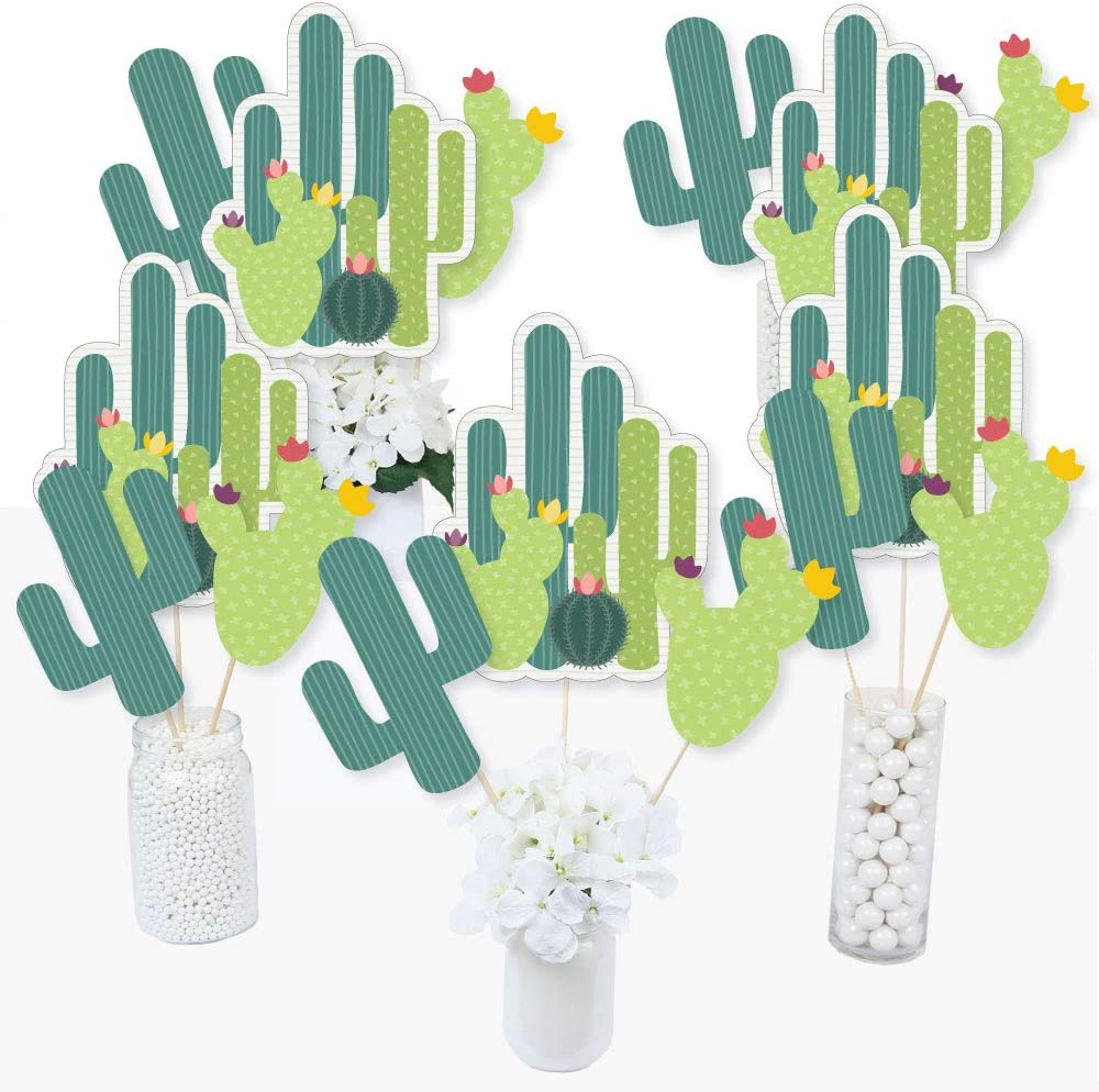Big Las Vegas Mall Dot of Happiness Prickly - Cactus Party Centerp Inventory cleanup selling sale Fiesta