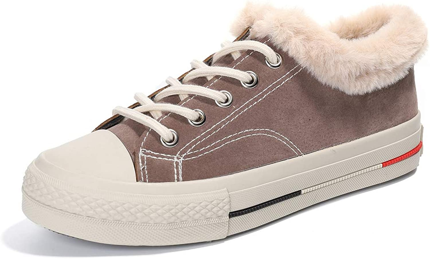 Women's Winter Sports shoes, Stylish and Comfortable Warm Plush Flat shoes