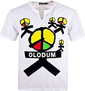 for Michael Jackson Olodum T-Shirt Mj Costume They Don't Care About Us