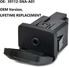 Aux Port Replacement for 2006-2011 Honda Civic and 2009-2011 Honda CRV Auxiliary Input Jack 39112-SNA-A01