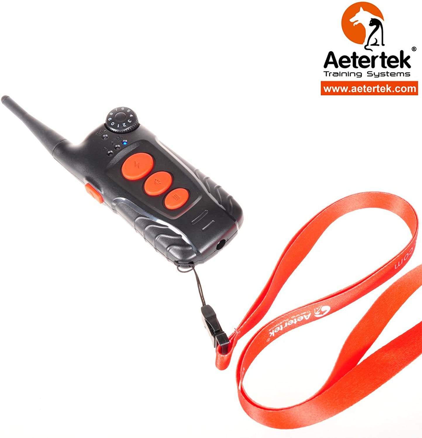 Aetertek Replacement Parts Remote for Waterproof Rechargeable Trainer Dog Training Shock Collar System AT218C (Replacement 218C Remote)