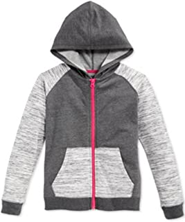 Little Girls Hoodie Granite Heather