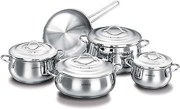 Korkmaz Gala 9Pc Cookware Set