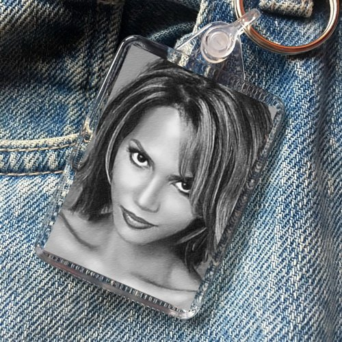SEASONS Halle Berry - Original Art Keyring #js002