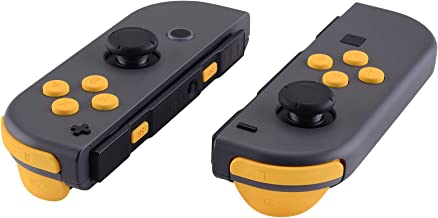 eXtremeRate Custom Replacement ABXY Direction Keys SR SL L R ZR ZL Trigger Buttons Springs, Full Set Buttons Repair Kits with Tools for Nintendo Switch Joy-Con - JoyCon Shell NOT Included