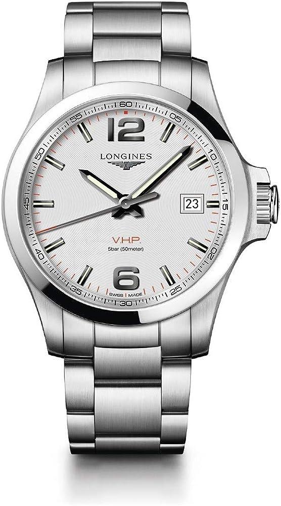 Longines conquest orologio automatico L3.726.4.76.6
