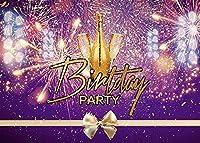 HD10x7ft花火の背景誕生日の背景テーマパーティー写真壁紙写真ブース小道具BJLHFH66