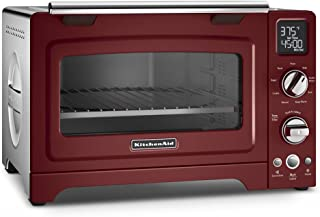 KitchenAid 12 inches Digital Countertop Oven   Gloss Cinnamon (Renewed)