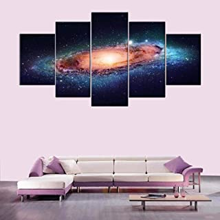 wekold 5Pcs Canvas Wall Art for Living Room Canvas Prints Home Décor Without Frame Paintings