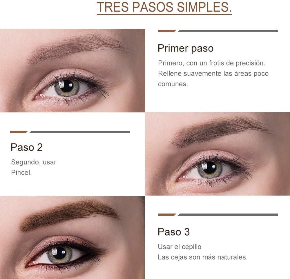 Tinte profesionales para cejas profesionales, 4,5ML KIT Delia ...