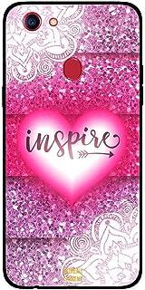 Oppo F5 Case Cover Inspire Pink Heart, Moreau Laurent Premium Phone Covers & Cases Design