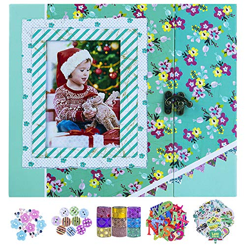 SICOHOME Scrapbooking Supplies,Scrapbook Kit for Gift,Scrapbooking and Card Making