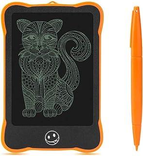 4.4インチくまのプーさん、子供のためのスタイラスが付いているLCDの執筆板伝言板の電子執筆落書き板、家族のメモ、オフィスの執筆,Orange