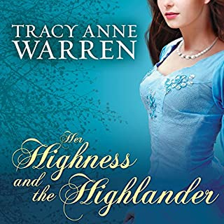 Her Highness and the Highlander audiobook cover art