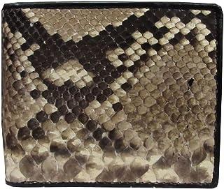 LUPADU Genuine Peacock Stingray Skin Leather MenS Bifold Wallet