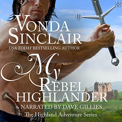 My Rebel Highlander audiobook cover art