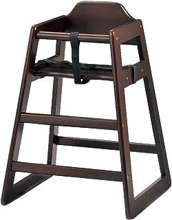 ベビー椅子 椅子/チェア/ 家具 ベビーチェア(ハイタイプ) 【単品販売】ダークブラウン